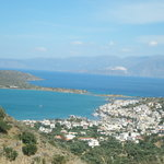 Overlooking spinalonga island