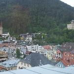 View of Landeck from hotel Sonne