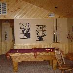 cabin #9 game room
