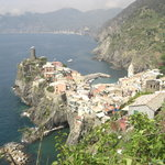 Vernazza - hiking the walking path
