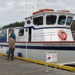 The Western Prince at dock in Friday Harbor after our excursion