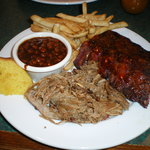 St Louis style ribs & pulled pork