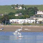 View of hotel from Appledore