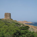  Aragonese tower and coastline