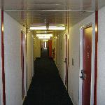  Erm, this is what the corridors look like, in case you were wondering