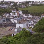 View of Port Isaac