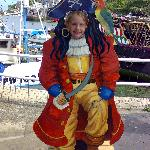 A Pirate at Brixham Harbour