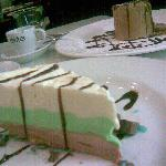 Yummy Icecream Mint Cake from Italian place at Dickson