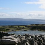View of Co. Clare from Inisheer