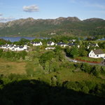The village of Plockton