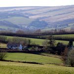  Stunning location of Little Brendon Hill Farm
