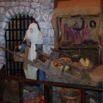 Medieval Street scene in visitor centre