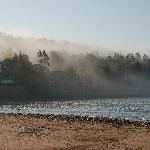 Fog Rolling onto the beach