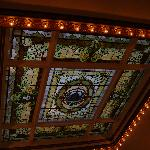 Stained Glass Ceiling 2nd Floor