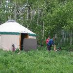 Sylvan Lake State Park Campground resmi