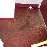  Really dirty carpet, with very bad smell.