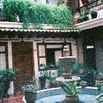  courtyard outside the room