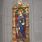  window of Saint Radegonde in chapel