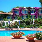 Foto dell'hotel vista piscina