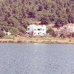  View of Maistrali from across lagoon