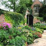 The grounds are covered with beautifully maintained gardens.