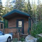 The Hiker's Cabin From Outside