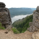 view of Columbia Gorge from Angel&#39;s Rest