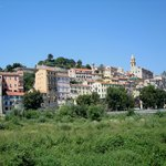 Old Ventimiglia from Below