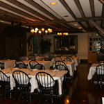 The rustic elegance of the Elizabeth Restaurant