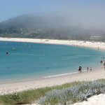 The nearby Isla Cies