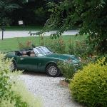 the Loup's Triumph Spitfire