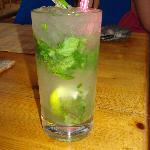 One of many great Mojito's from Buzz