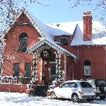Thompson House Inn in the snow!