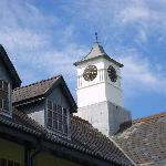Pretty clock tower on the Country Club