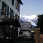  View of Mont Blanc from the patio