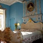  L&#39;impressionnante chambre bleue