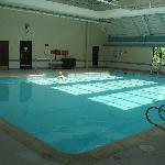  They have one BIG indoor pool!