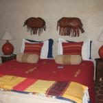 Our Berber style bed