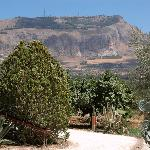 View on Erice from the grounds