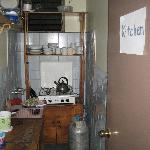  The kitchen...not shown: the dining area, which is spacious with at least 4 tables.