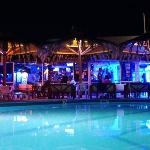Tzante Pool Bar at Night