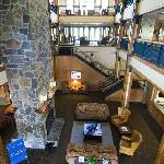 Grand Summit Hotel Lobby from second floor