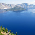 Crater Lake and Wizzard Island