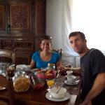 Breakfast at Casa Mari