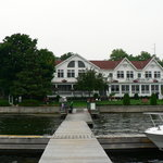  Main lodge as seen from dock