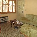 Sitting area - room 219