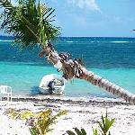 Castillo beach, fishing boat, reef