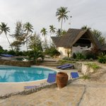 Pool and One ocean dive center at Matemwe Beach village