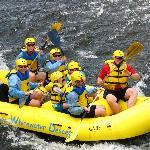 Our group rafting in July 08