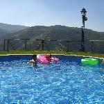 swimming pool at Quinta do Silval